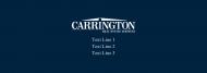 Custom Label Bottled Water - Carrington Blue