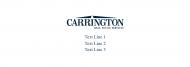 Custom Label Bottled Water - Carrington White
