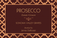 Expressions Mini Champagne Label - Rose Gold Mesh