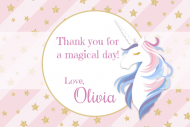 Gift Tag - Unicorn Wishes