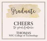 Graduations Beer Can Label - Graduate Cheers