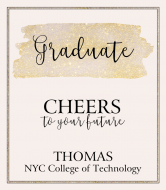 Graduations Champagne Label - Graduate Cheers