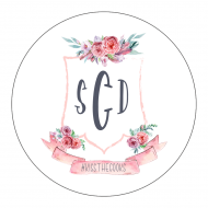 Wedding Sticker - Wedding Crest