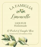 Wine Label - Italian Limoncello