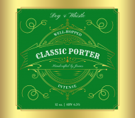 Expressions Beer Can Label - Classic Porter
