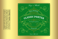 Growler Label - Classic Porter