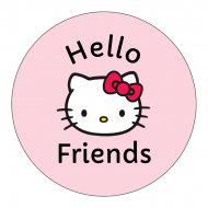 Celebration Sticker - Hi Kitty