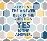 Expressions Beer Label - Beer Question