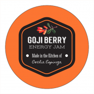 Canning Label - Goji Berry