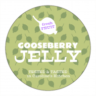 Canning Label - Gooseberry Jelly