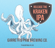 Beer Can Label - Kraken Brew