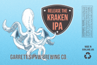 Expressions Growler Label - Kraken Brew