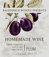 Expressions Wine Label - Plum Wine