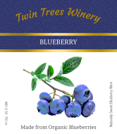 Expressions Wine Label - Blueberry Wine