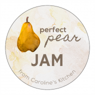Canning Label - Pear Jam