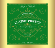 Expressions Beer Label - Classic Porter