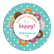 Sticker - Donut Worry