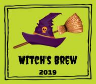 Holiday Beer Label - Broomstick Brew