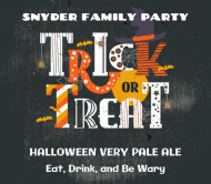 Holiday Beer Label - Trick or Treat