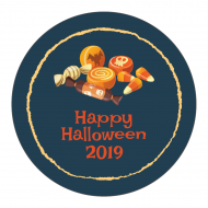 Holiday Sticker - Halloween Candy