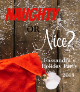 Holiday Champagne Label - Naughty or Nice?