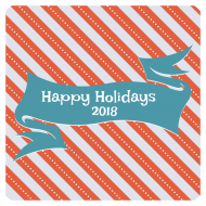Holiday Drink Coaster - Holiday Banner