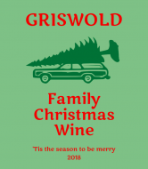 Holiday Wine Label - Griswold Family Christmas