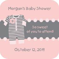 Baby Drink Coaster - Pink Pajamas
