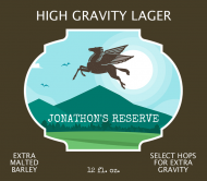 Expressions Beer Label - High Gravity