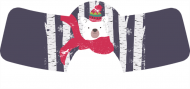 Holiday Bottle Neck Label - Beary Merry Christmas