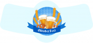 Holiday Bottle Neck Label - Oktoberfest Beer
