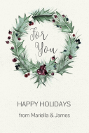Holiday Gift Tag - Winter Holly