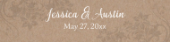 Wedding Custom Label Bottled Water - Kraft Paper Water
