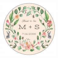 Wedding Canning Label - Meant to Bee