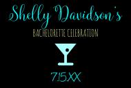Wedding Mini Liquor Label - Cocktail Hour