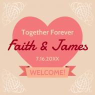 Wedding Sticker - Wedding Favor