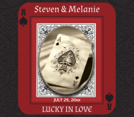 Wedding Beer Label - Lucky