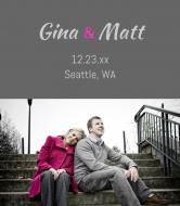 Wedding Wine Label - You and I
