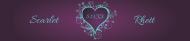 Wedding Water Bottle Label - Heart Nouveau