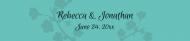 Wedding Water Bottle Label - Tiffany Blue