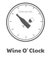 Wine Label - Wine O Clock