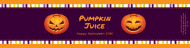 Holiday Custom Label Bottled Water - Pumpkins