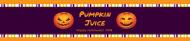 Holiday Water Bottle Label - Pumpkins
