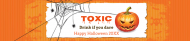 Holiday Water Bottle Label - Halloween Party