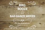 Wedding Mini Liquor Label - Be My Groomsman