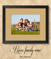 Expressions Wine Label - Frame