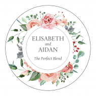 Wedding Sticker - Forever Roses