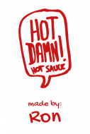 Food Label - Hot Damn Hot Sauce