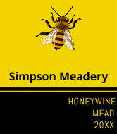 Liquor Label - Honey Mead