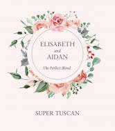 Wedding Wine Label - Forever Roses